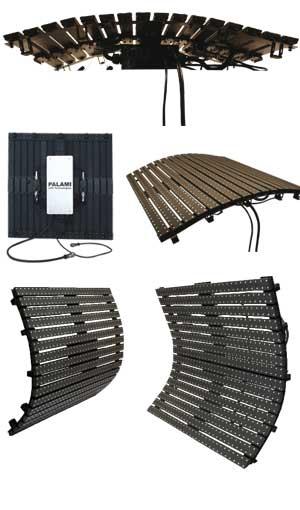светодиодныегибкие ( slim) экраны