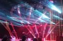 """Полуфинал Еврофест.  Использованы светодиодные сетки """"ПАЛАМИ"""""""