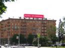 Компанией ПАЛАМИ установлен сверхъяркий имиджевый видеоэкран на крыше здания по пр. Независимости, 47