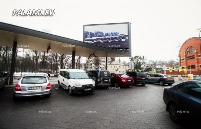 Экраны PALAMI установлены в  крупнейшем терминале Литвы (г. Каунас)