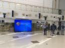 В рамках модернизации Дворца культуры области в Могилеве компанией PALAMI была установлена система видеопоказа