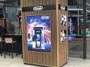 В гипермаркете «ЭЛЕКТРОСИЛА» в ТЦ «ProStore» (г. Минск, пр-т Дзержинского, 126) установлено два светодиодных экрана.