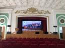 В актовом зале Белорусского национального технического университета установлен светодиодный экран прокатного типа