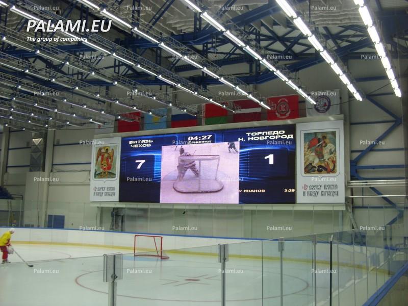 Полноцветное видео табло в Чехове
