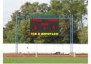 Многоцветное спортивное табло для стадиона в г.Речица