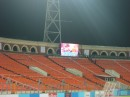 Сопровождение футбольного матча  Беларусь - Албания. Установлены светодиодные экраны.