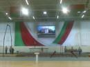 """Светодиодное видеотабло, произведенное предприятием """"ПАЛАМИ"""" по технологии SMD с шагом пикселя 12 мм установлено в новом зале гимнастики в г.Могилеве."""