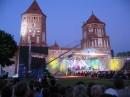 """С 19 по 21 июня в самом центре средневековья — Мирском замке  состоялись 3 уникальных концерта с использованием светодиодных экранов компании """"ПАЛАМИ""""."""