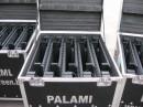 Полноцветная светодиодная сетка Palami-Strip-37,5ms в мобильных корпусах в транспортировочных кейсах для Департамента молодежной политики Краснодарского края.