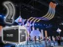 Прокатный комплект гибкой светодиодной сетки Palami-FlexiStrip-37,5 для оформления Дворца культуры изготовлен и поставлен в г.Алматы (Казахстан).