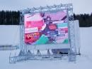 """Изготовлен и установлен полноцветный электронный светодиодный экран вОлимпийском спортивном комплексе """"Раубичи"""""""