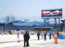 Завершены работы по установке самого большого в России стационарного светодиодного видеоэкрана г.Кемерово