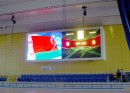 В Минском Дворце Спорта засветил большой видеоэкран