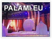 """Группой компаний """"ПАЛАМИ"""" изготовлен и поставлен прокатный комплект гибкой светодиодной сетки Palami-SMD-FlexiStrip-37.5 площадью более 60 кв.м. для Министерства культуры Российской Федерации."""