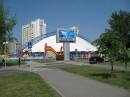 Очередной уличный светодиодный экран размером 3,84х5,76 метра произведен и установлен нашим предприятием в г.Гомеле на ул.Речицкое шоссе.
