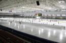 Видеоинформационная система из двух экранов для конькобежного стадиона МКСК «Минск-арена».
